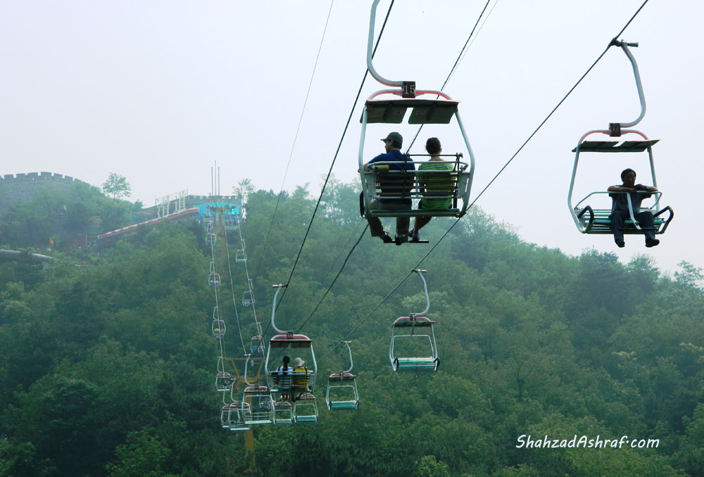 Photography | Ropeway to to the Great Wall of China