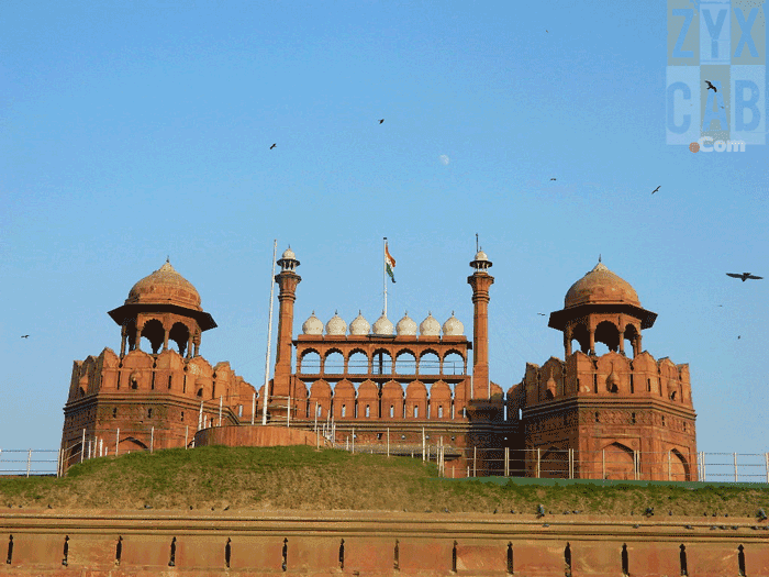 A trip to the Red Fort, India