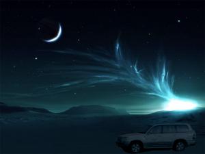 The Mystical Desert Safari at Night Dubai