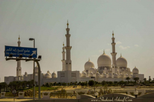 Aesome Sheikh Zayed Grand Mosque, Abu Dhabi - street photography